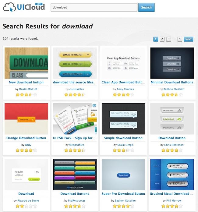 uicloud UICloud   Le moteur de recherche des designers dinterfaces
