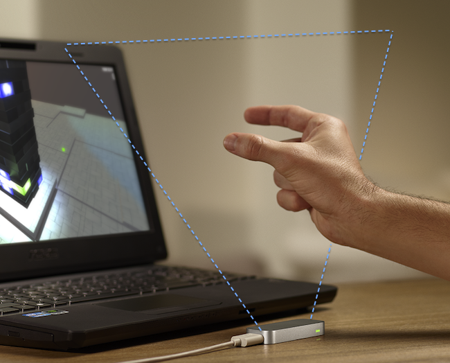 05 LeapMotion Laptop Jai testé le Leap Motion
