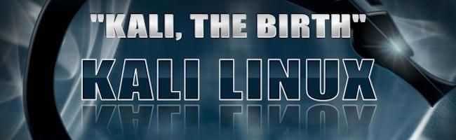 Backtrack 6 alias Kali Linux est là !