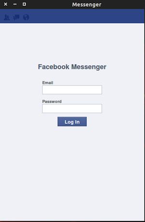 fbmessenger2 Un client Linux pour le chat Facebook