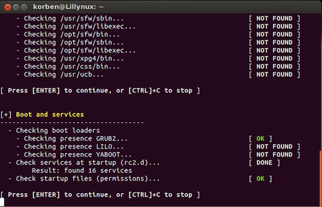 lynis1 Réalisez un audit sécurité de votre système GNU/Linux facilement