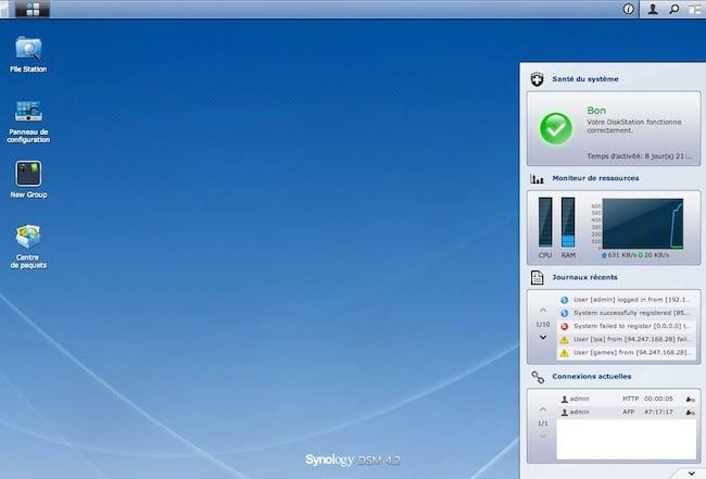 syno Transformez un PC en serveur Synology (avec DSM 4.2)