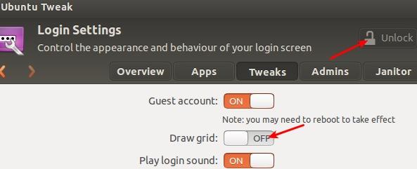 ubuntu Supprimer les points blancs sur lécran de login dUbuntu