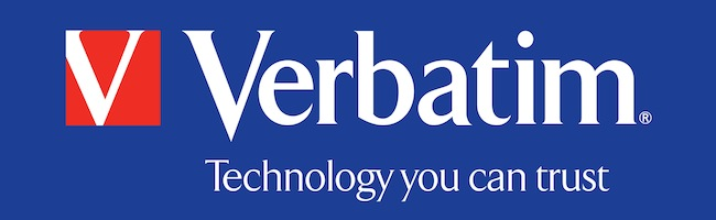 Bon plan Verbatim  Par Korben VerbatimLogoBlueBackground_HighRes