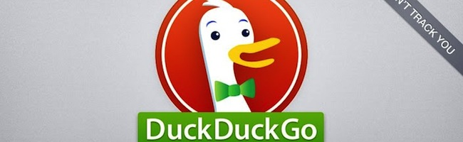 Duckduckgo sort son application mobile