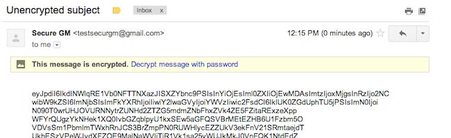 Secure Gmail – Une extension Chrome pour chiffrer vos emails