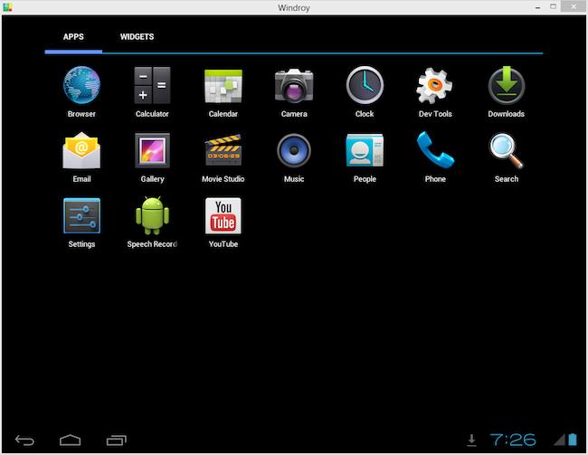 windroy android sur votre pc windows korben. Black Bedroom Furniture Sets. Home Design Ideas