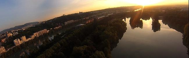 La terre vue du drone