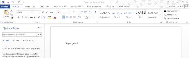 Word – Ouvrir automatiquement le dernier document au lancement