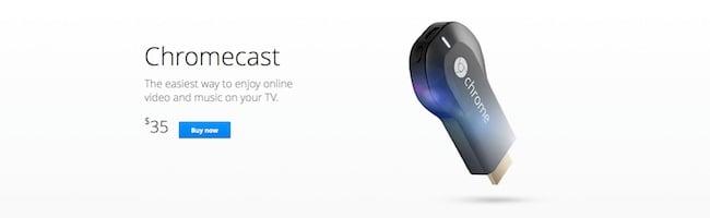 Le ChromeCast est-il fait pour vous ?