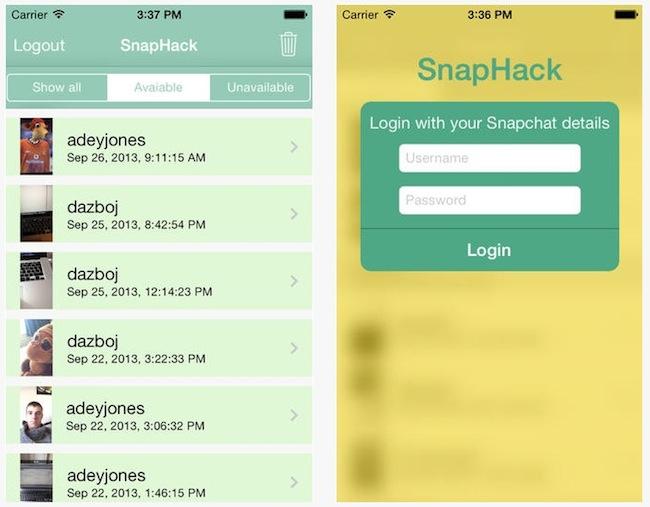 snaphack Comment enregistrer des vidéos et des photos Snapchat