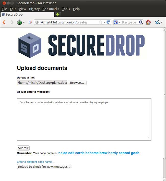 source3 SecureDrop   Le dernier projet dAaron Swartz voit enfin le jour