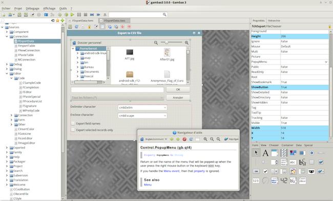 2012 01 01 Un EDI comme Visual Basic mais pour Linux