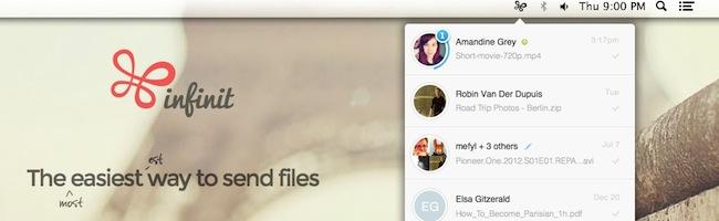 Transférer facilement des fichiers sous Mac OSX
