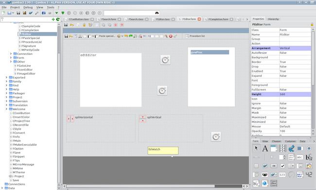 ide kde Un EDI comme Visual Basic mais pour Linux
