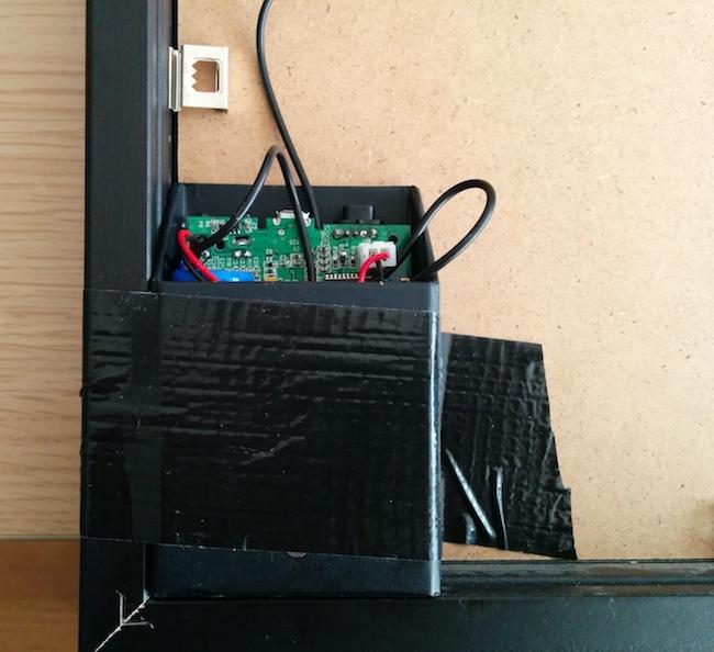 boite Recyclage denceinte à vibrations