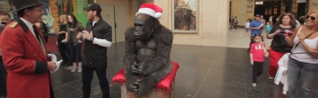 Santa Gorilla – Un animatronique bluffant