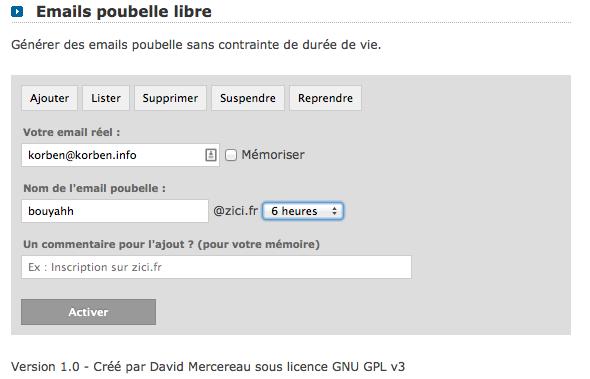 emailpoubelle