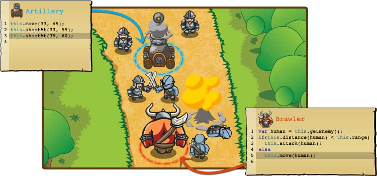 opensource14316ff5b8fc483df8b81288a31a4b97d2 CodeCombat   Le jeu qui va vous apprendre à programmer