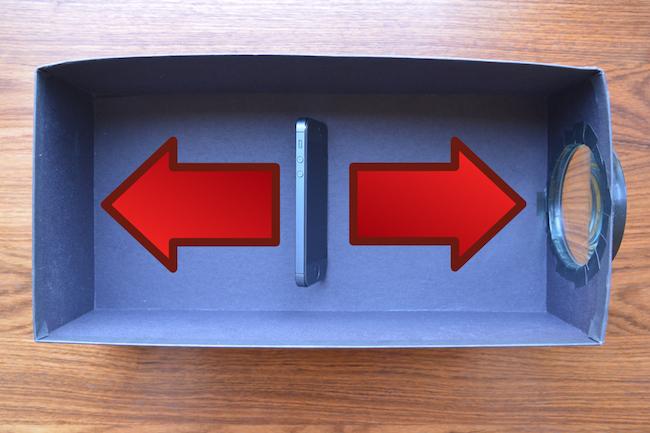 step6 1000 Fabriquez un mini projecteur pour votre téléphone