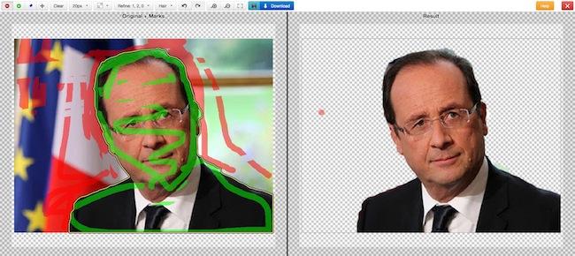logiciel détourage photo gratuit