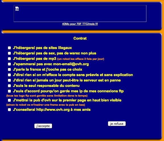 OVH en 2001