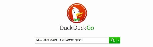 Bang Duckduckgo