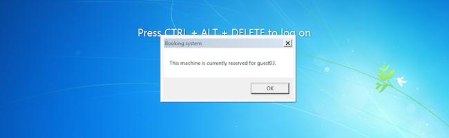 PCBook – Un système pour gérer des réservations de PC