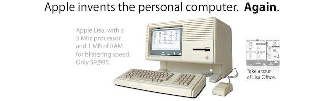 Avant le Macintosh, il y a eu le LISA