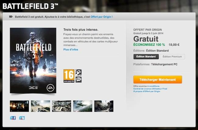 Téléchargez Battlefield 3 gratuitement ! Bf3