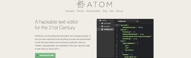 Atom – Un éditeur de code sur lequel il faudra compter