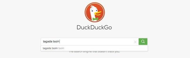 Une jolie petite mise à jour de DuckDuckGo