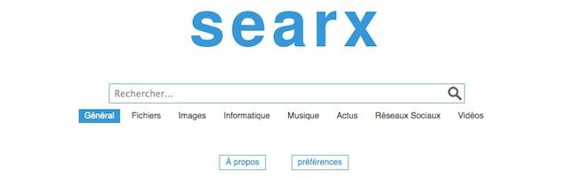 Searx – Le méta moteur totalement paramétrable qui respecte votre vie privée
