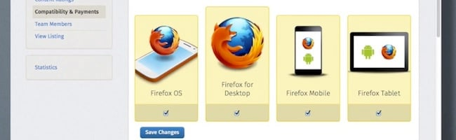Les applications Firefox OS sont maintenant installables sous Android