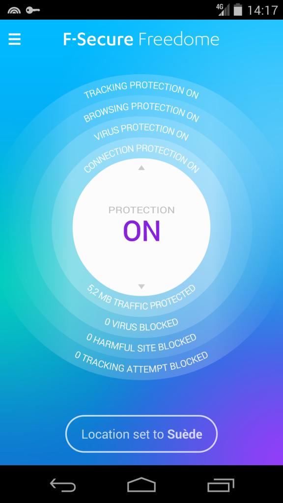 android f-secure outil de désinstallation