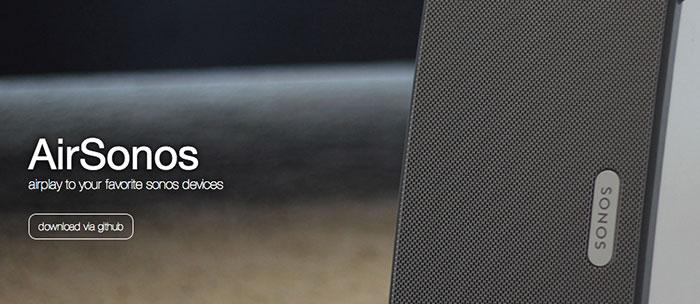 Utiliser des enceintes Sonos avec AirPlay