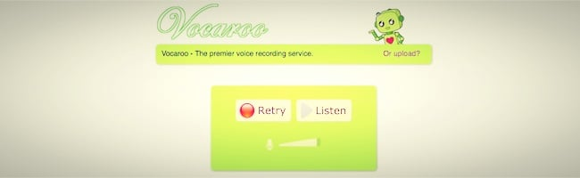 Vocaroo – Le service d'enregistrement audio rapide et facile