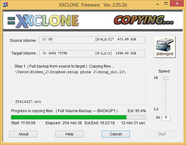 xxclone XxClone   Mieux quune sauvegarde, un clonage de votre disque
