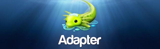 Adapter – Pour convertir vos vidéos, images et sons facilement