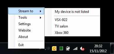 swyh 1.21 Un logiciel pour balancer le son de votre ordinateur sur vos appareils compatibles DLNA / UPNP