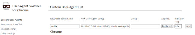 nfswitch Netflix sous Ubuntu en HTML5, ça fonctionne