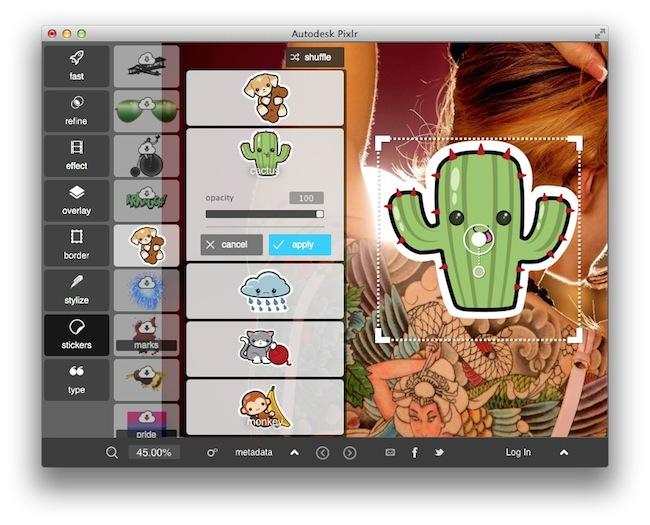 pixlr desktop outil gratuit retoucher vos photos1 Pixlr Desktop   Un outil gratuit pour retoucher vos photos
