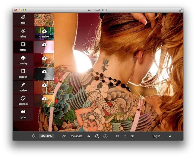 pixlr desktop outil gratuit retoucher vos photos2 Pixlr Desktop   Un outil gratuit pour retoucher vos photos