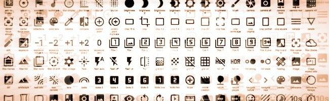 Plus de 750 icônes libres pour vos projets web et mobiles