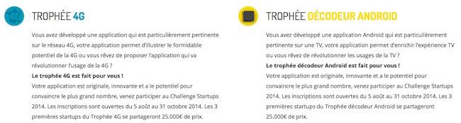 4g Challenge Startup 2014 spécial 4G et Android TV