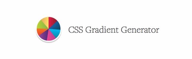 Un générateur de dégradés en CSS (gradient CSS)