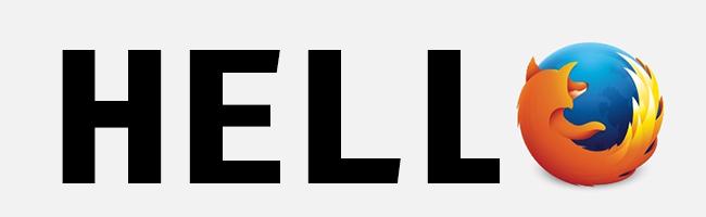 Dites bonjour à Hello, et passez vos appels directement depuis Firefox