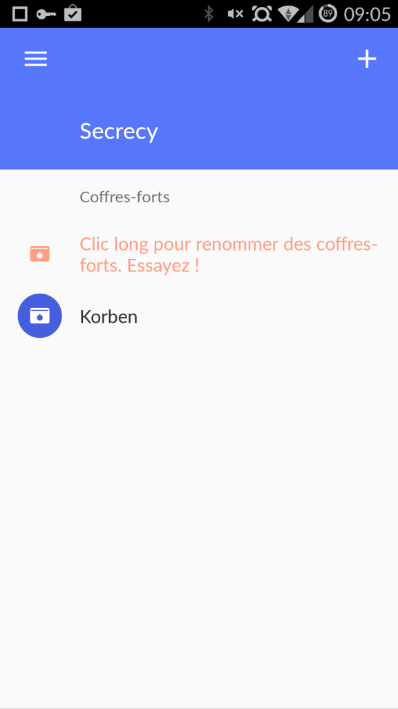 login 576x1024 Secrecy   Une application Android pour garder tous vos secrets