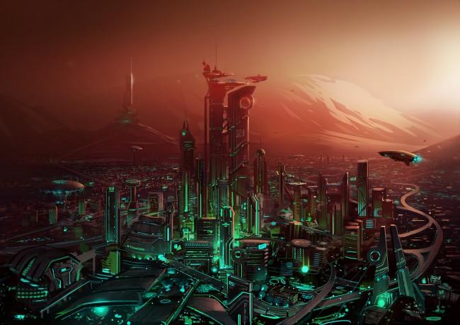 marscity 650x459 Le futur de lHumanité passera par Mars daprès Elon Musk