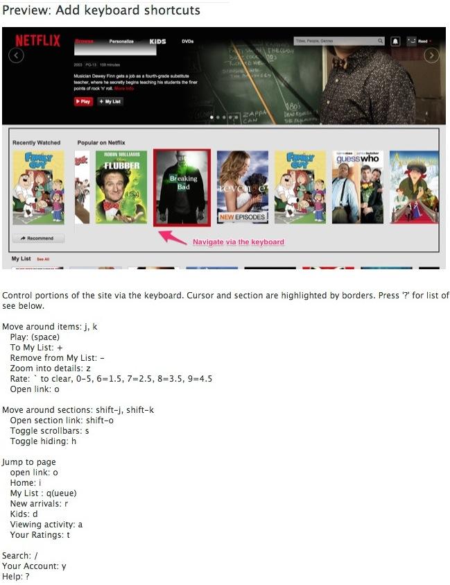 nflix Netflix   Une extension Chrome pour améliorer votre expérience utilisateur